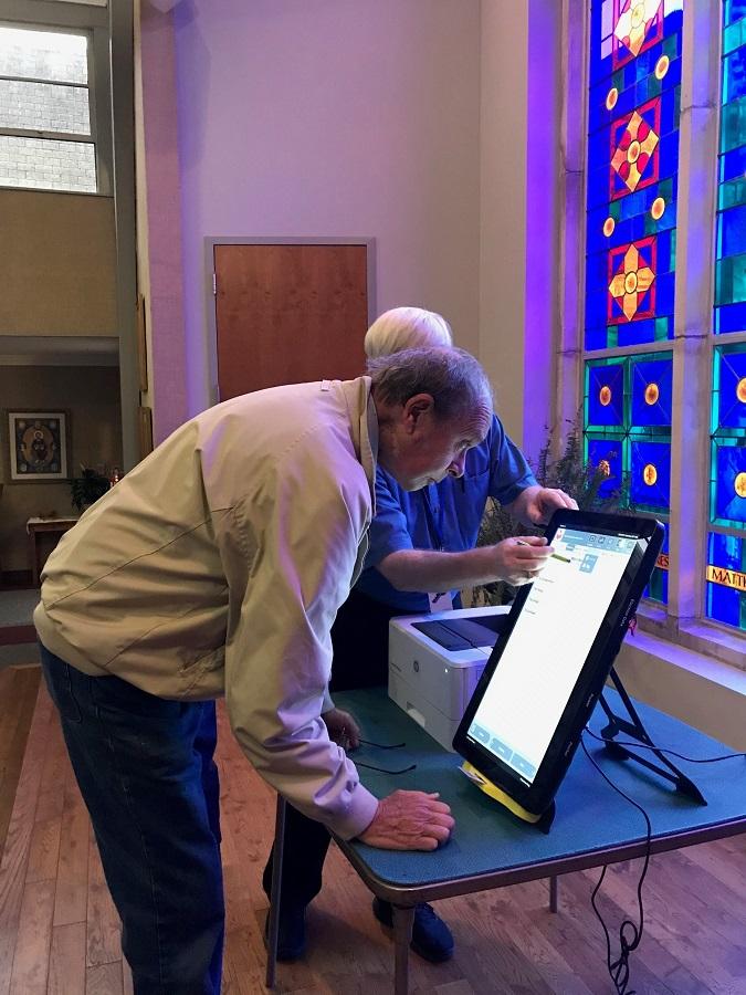 Georgia voting machine